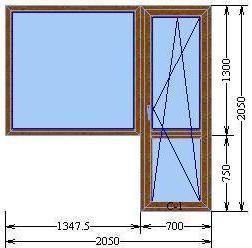 Балконный блок серии «Элит»